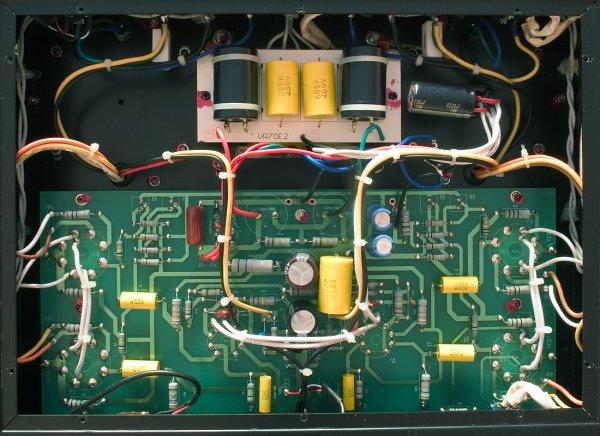Circuit imprimé VR70E2 avant modification